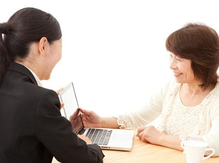 女性税理士によるお客様目線での きめの細かい丁寧な対応